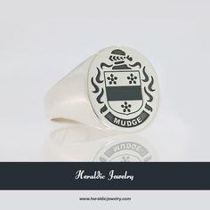Mudge family crest jewelry