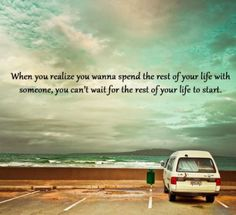 Spending Life With Someone Special