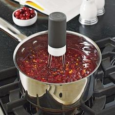 Stir magic - it stirs for you while you are doing other things in the kitchen!