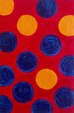 Original Art Colour Circles Ink and Wax on Paper Self Representing Artist Circle Shape, Artist Art, Original Art, Wax, Shapes, Abstract, The Originals, Artwork, Painting