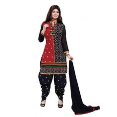 Fancy patiala suits embroidery work