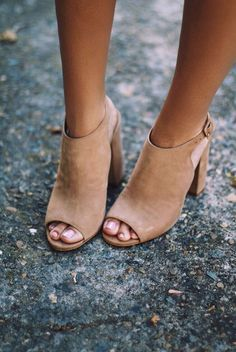 Peep Toe Boots, Open Toed Booties, Open Toe Sandals, Suede Booties, Suede Peep…