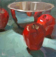 """Drawn to Reflections"" - Original Fine Art for Sale - © Carol Marine"