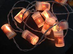 DIY Film Canister Christmas Lights
