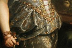 "Detail: ""Judith and Holofernes"" by Fede Galizia, 1596."