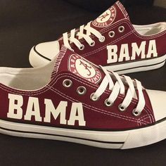 Alabama Crimson Tide Converse Shoes