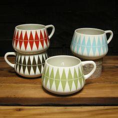 Danish Coffee Mugs