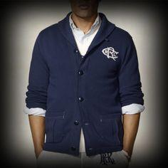 ラルフローレンラグビー メンズ ジャケット Ralph Lauren Rugby Varsity Shawl Cardigan ジャケット-アバクロ 通販 ショップ #ITShop
