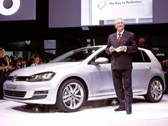 2012 VW Golf VII: Präsentation in Berlin Neue Nationalgalerie #volkswagen #golf7