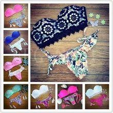 2015 Triangle bikini New sexy Beach Swimwear Ladies swimsuit For women swimwear bathing suit bikini brazilian maillot de bain 2(China (Mainland))
