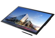 """IGZO Sharp - large touch-screen computer display with resolution Ultra HD 4K - 32"""" #4K #ultrahd #touchdisplay #touchscreen"""