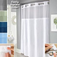 14 Best Hookless Shower Curtains I Love It Just Got Me Some Images