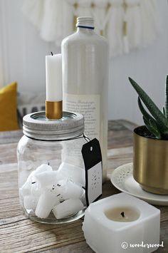 WONDERWOOD.no: DIY Candle in a jar