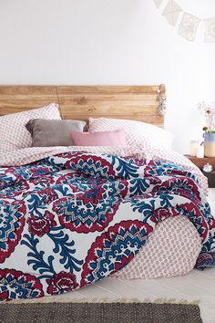 Magical Thinking Wood Block Medallion Bed-In-A-Bag Snooze Set - Urban Outfitters
