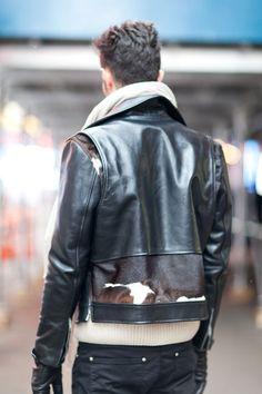 Detailed biker jacket