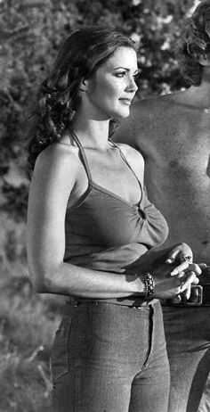 Lynda Carter in 'Bobbie Jo and the Outlaw', 1976.- 1970s - Fantasy Females
