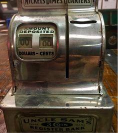 Vintage Cash Register @Rail Creek Furniture Co