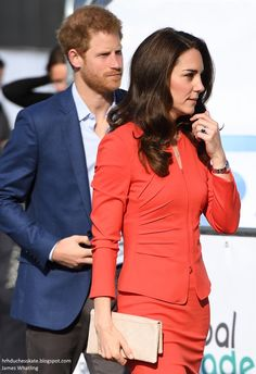"""Duchess Kate: Kate Tells Student """"I'm Shy as Well"""" During Global Academy Opening! Prince Harry And Kate, Prince William And Catherine, William Kate, Prince And Princess, Kate Middleton Dress, Kate Middleton Style, Catherine Cambridge, Duchess Of Cambridge, Duchess Kate"""