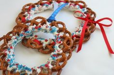 making pretzel wreath 6