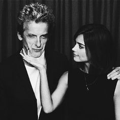 Peter Capaldi & Jenna Coleman at SDCC 2015 - Comic Con 2015 -