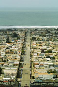 ocean beach. san francisco.