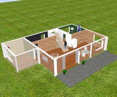 Planer 3D - darmowy program do projektowania wnętrz domów i mieszkań - poleca Leroy Merlin