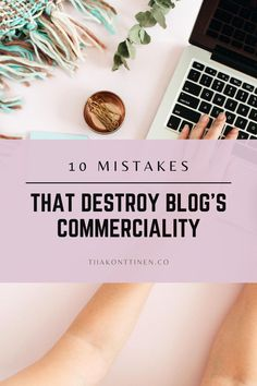10 MISTAKES THAT DESTROY BLOG'S COMMERCIALITY I In this post, I'll go through 10 mistakes that destroy blog's commerciality. It has been a long time since just about anything was written on the blog, and blurry, dark pictures accompanied the text. So are you ready to find out the 10 mistakes that destroy blog's commerciality? #blogging #bloggingtips #profitable blog #tiiakonttinen How To Start A Blog, How To Find Out, How To Make Money, Dark Pictures, Blog Names, Blog Topics, Social Media Channels, Social Media Influencer, Free Blog