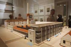 Walter Gropius - Model of Fagus Shoe Factory