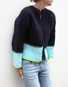 Jackie Jacket - wool and the gang- K.N.I.T
