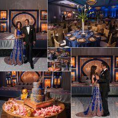 Indian Wedding Atlanta Garrett Frandsen Grand Hyatt Buckhead Cake Utopian Events