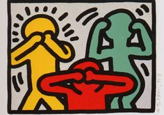 Keith Haring Drawings   Haring Keith Art Print Poster Pictures 1280x900 Resolutions #5298 # ...