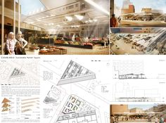[AC-CA] International Architectural Competition - Concours d'Architecture | [CASABLANCA] Sustainable Market Square
