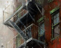 Fire Escape NYC No. 4 by Victor Bauer
