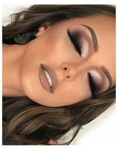 Dramatic Bridal Makeup, Wedding Eye Makeup, Wedding Makeup For Brown Eyes, Makeup For Green Eyes, Bridal Hair And Makeup, Bride Makeup, Makeup Eyes, Makeup For Formal, Bridal Smokey Eye Makeup