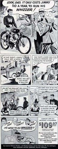 Image detail for -Whizzer Motor Bike on eBay!