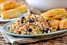 I'm not the biggest fan of canned tuna, so when this recipe piqued the 'ole radar I was more than a little surprised. But I do love me some couscous, especially the pearl variety, or Israeli cousco...