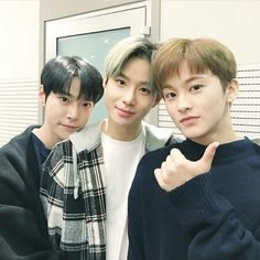 Mark, Jungwoo, and Doyoung Nct 127, Nct U Members, Johnny Seo, Sm Rookies, Mark Nct, Jung Woo, Ji Sung, Celebs, Celebrities