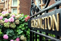 As part of my ongoing quest to explore London's neighborhoods, I have been riding the heat wave over to Kensington.