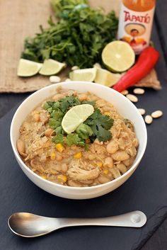 Chicken and White Bean Chili - GF