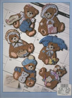 MONTHLY BEAR MAGNETS COVER