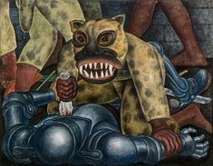 Indian Warrior, 1931 by Diego Rivera