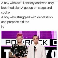 I'm so proud of both of them i love them and they give me hope for my same struggles