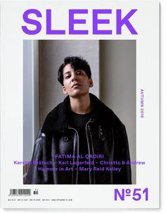 Peter Rigaud for SLEEK MAGAZINE #51 AUTUMN 2016 with New York-based artist, musician and composer FATIMA AL QUADIR! #photography #peterrigaud #styling @paulmaximilian #artist #musician #composer #fatimaalqadiri #editorial #cover #magazine #sleekmagazine #shotview_management #berlin #paris #vienna