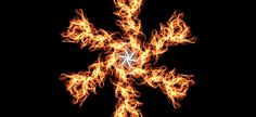 Snowflake on fire, created by me! #withafrozenheart Lol #weavesilk
