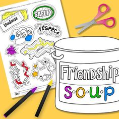 Friendship Soup Activity and matching classroom video from The NED Show