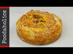 Τυρόπιτα φόρμας με ζύμη γιαουρτιού #4 | foodaholics - YouTube Cooking Cake, Greek Recipes, Quiche, Camembert Cheese, Muffin, Food And Drink, Pie, Breakfast, Desserts