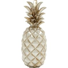 UMA Enterprises Pineapple Decor in Silver