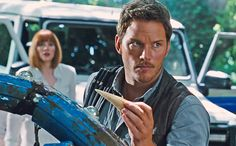 Someone let the dinosaur out of its cage a little earlier than expected. Ahead of the planned screening on Thanksgiving, Universal Pictures has released the trailer for 'Jurassic World.'