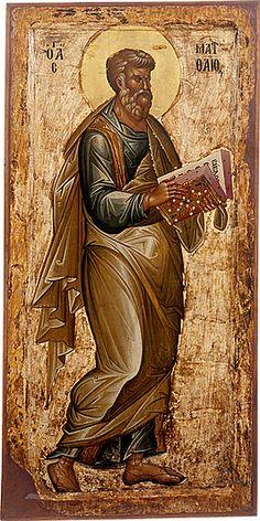 Άγ. Ματθαίος Απόστολος & Ευαγγελιστής   _ nov 16    (icon gallery ohrid, Macedonia