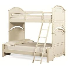 Classic bunk bed for kids https://www.homelivingfurniture.com/i206832/3850-8110-fl-legacy-classic-furniture-charlotte-kids-room-twin-over-full-bunk-bed It can be used in girl rooms or boys since the style is unisex. The unique design fits 3: perfect for families with triplets or lots of children. The cool ladder is awesome & kids have fun with it. It's useful for playrooms, bedrooms, vacation cottages or even if you simply want to provide a place for your grandchildren to sleep…